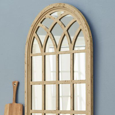 Wayfair Corey Arched Oversized Wall Mirror