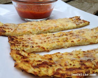 Cauliflower Cheese Sticks - a friend told me about these and how much her family loves them. Must try!
