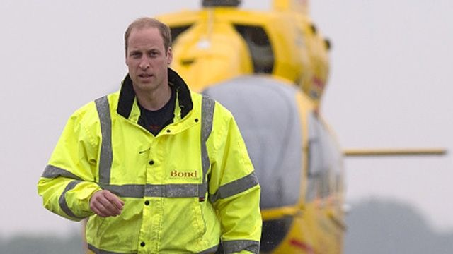 Prince William gushes about his family.