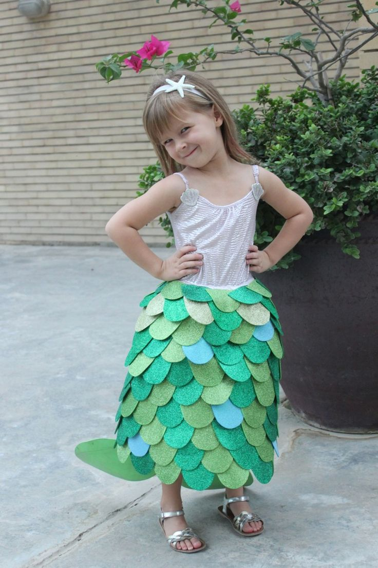Homemade Mermaid Costume - Mama.Papa.Bubba.