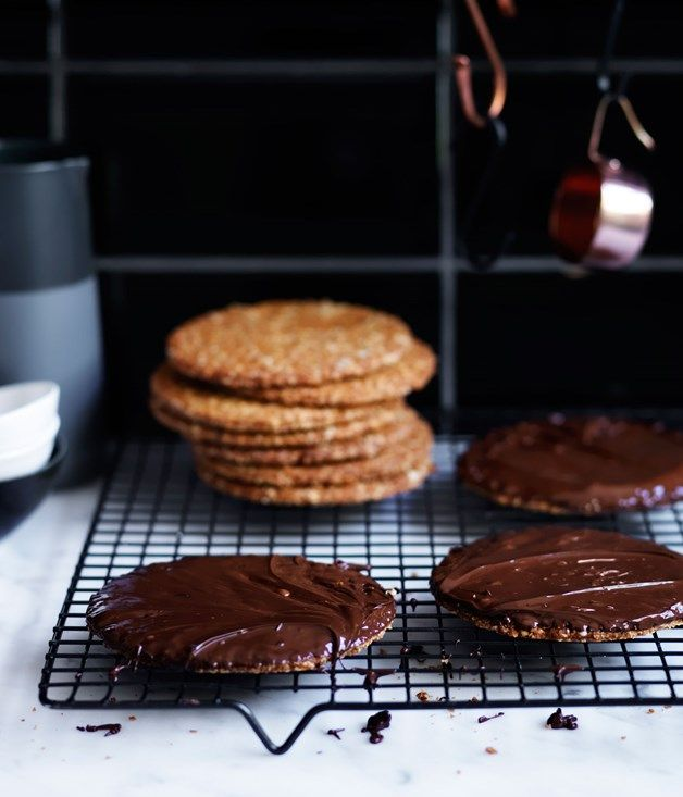 A quick recipe for chocolate hob-nobs, exactly what you need to get through the afternoon slump.