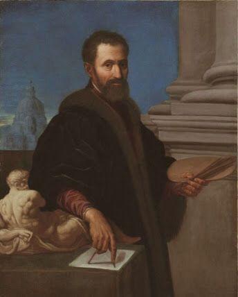 Miguel Ángel, escultor y artista italiano, conocido por sus grandes obras como El David o la Capilla Sixtina.