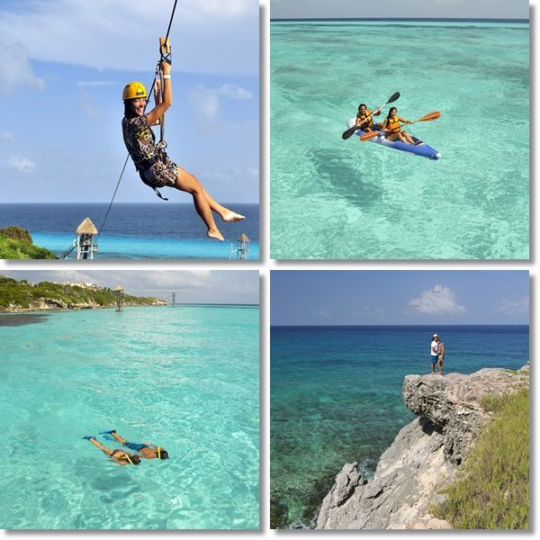10 fun things to do in Cancun for families - my kids would love the ziplining and snorkeling! #SummerInspiration #spon