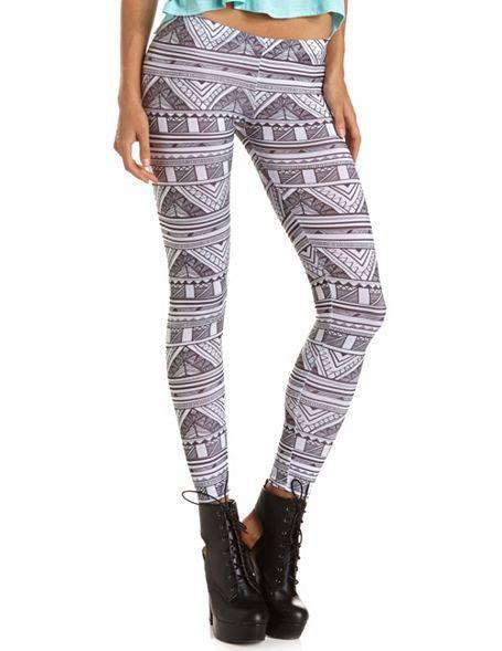Aztec Print Legging