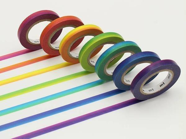 MT07P001 MT Slim Rainbow Tape Set