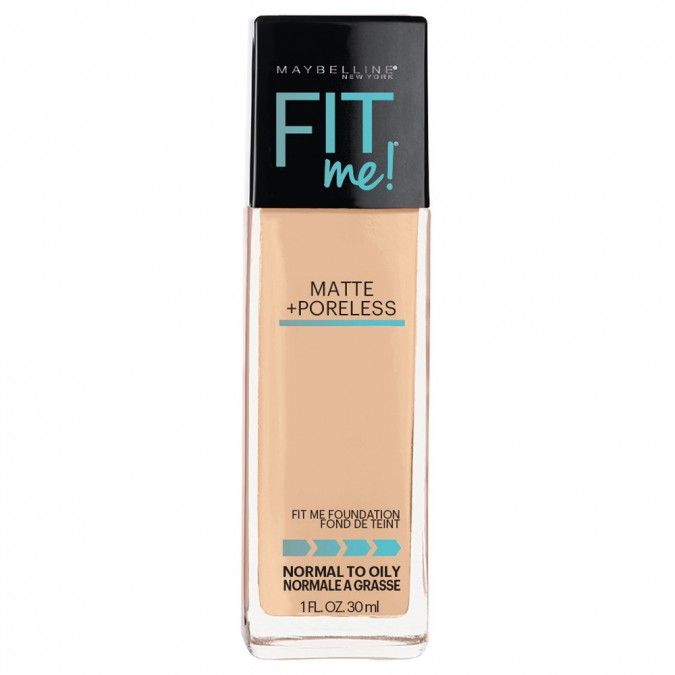 Fit Me! Matte + Poreless from Maybelline New York goes beyond skin tone matching to fit the unique texture issues of normal to oily skin for the ultimate natural skin fit.