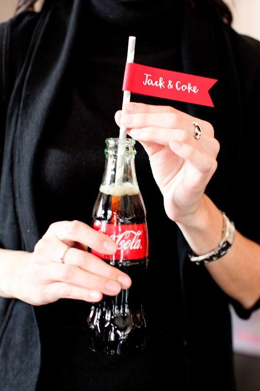 Jack and coke on the rocks