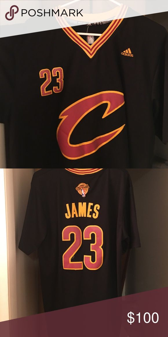 Lebron James Cleveland Cavs Finals Jersey Lebron James Cleveland Cavs Finals Jersey. Never worn. NWT. Adidas Shirts