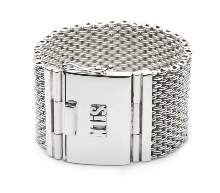 sterling silver bracelet // 703 Madonna // www.silkjewellery.nl