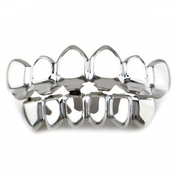 SHARE & Get it FREE   Hollowed Top Bottom Teeth Hip Hop Grillz SetFor Fashion Lovers only:80,000+ Items·FREE SHIPPING Join Dresslily: Get YOUR $50 NOW!