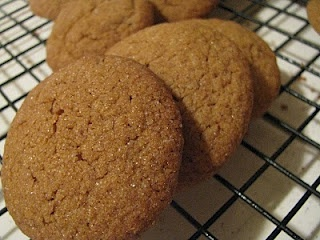 Old Fashioned Molasses Cookies.