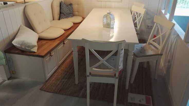 Eckbank Landhausstil Aus Küchenschränken Ikea Meine