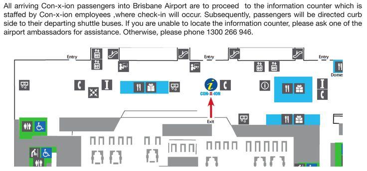 Brisbane International Airport arrival procedures