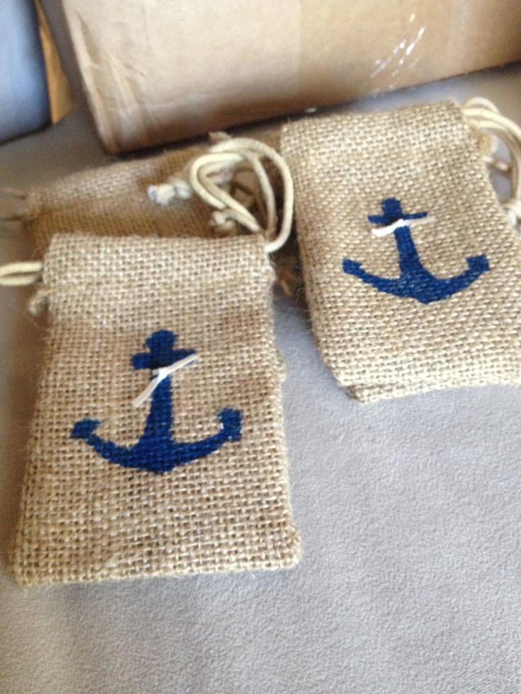 Nautical Wedding Party Favor. $4.50, via Etsy.