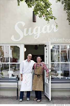 Anna's brother!!! Sugar bakeshop ... on Cannon Street in downtown Charleston, South Carolina