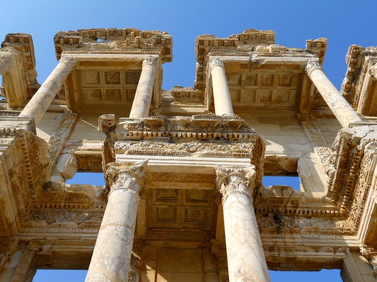 Ephesus, Turkey-so beautiful....