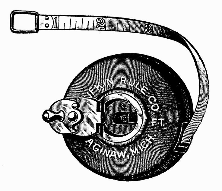 Antique Images: tape measure