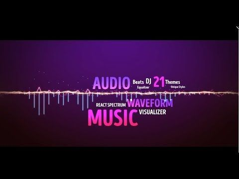 Audio Visualizer Music React 27 Styles | After Effects
