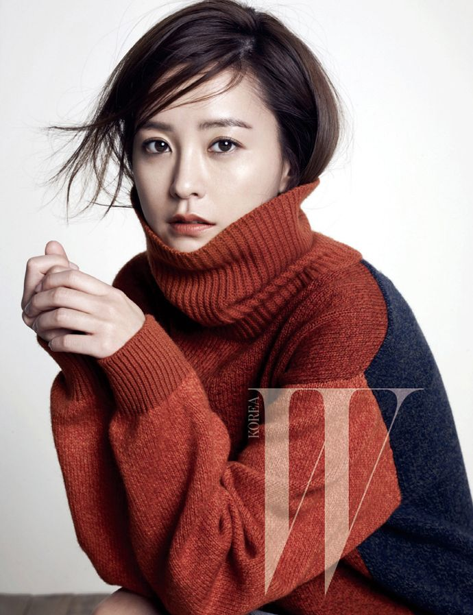 Discovery of Romance's Jung Yumi For W Korea's November 2014 Issue | Couch Kimchi
