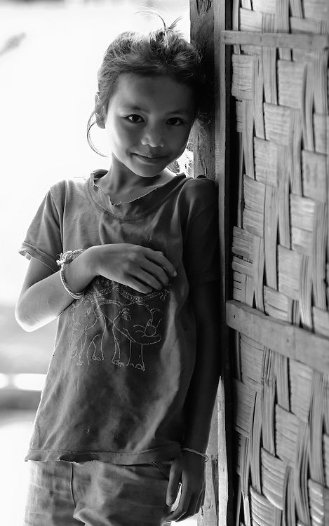 Khamu girl near Nong Kiau, Laos.