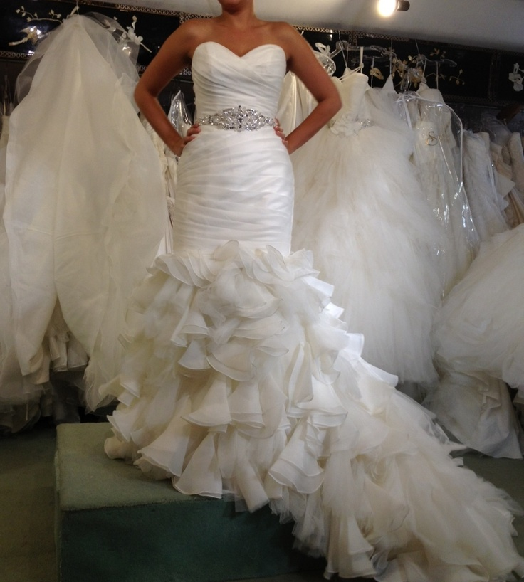 sigh. falling in love with this Maggie Sottero dress.