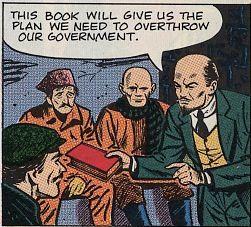 Κρυφές αδυναμίες: Αντικομμουνιστικά κόμικ, μέρος δύο. Ο Λένιν αγνόησε τον λόγο του Θεού.