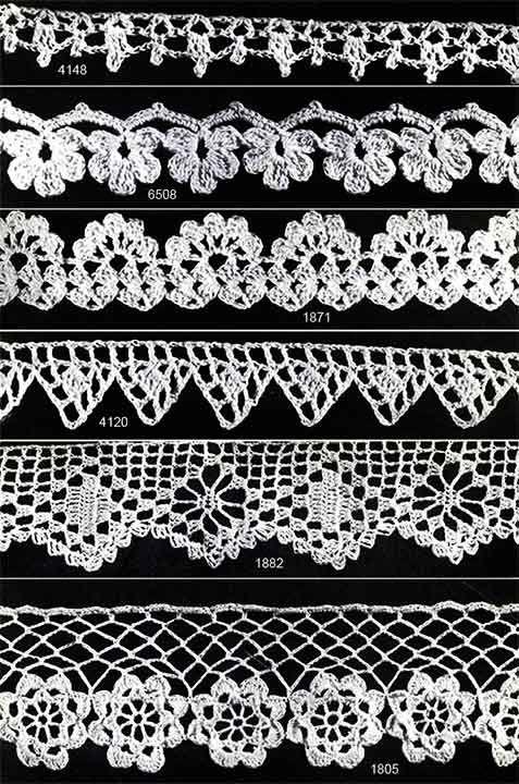 Crocheted Edging Tutorial╭⊰✿Teresa Restegui http://www.pinterest.com/teretegui/✿⊱╮