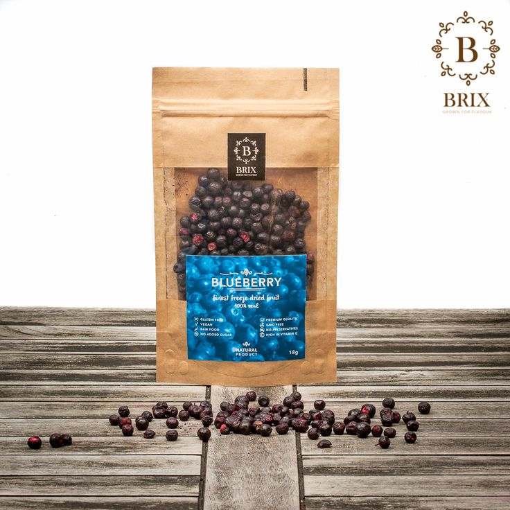 Finest freeze dried crispy Blueberries Photo courtesy of Brix-Grown for flavour #brixproducts #brixgrownforflavour #freezedriedfruitthatchangedmylife #FreezeDriedFruit #raw #vegan #healthy #crispy #blueberry #natural #noaddedsugar #foodpic #flavour #tasty #health #healthyfood #product #design