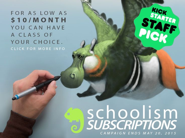 SCHOOLISM SUBSCRIPTIONS: ART EDUCATION MADE AFFORDABLE  For as little as $10 per month learn from Dice Tsutsumi, Bobby Chiu, Nathan Fowkes and many others
