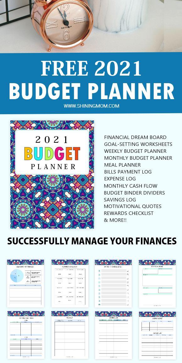 Free Printable Budget Planner 2021: 35 Budget Templates ...