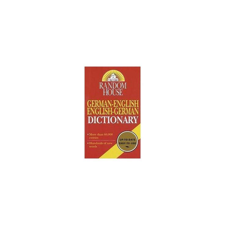 Random House German-English English-Germ (Reissue / Revised) (Paperback)