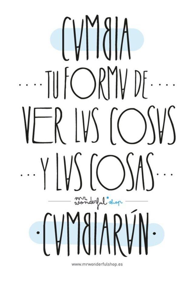 Cambia la forma de ver las cosas, no te quedes estancado con esa visión. :)