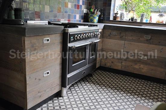 Keuken Steigerhout Look : Found on steigerhouttuinmeubels.nl