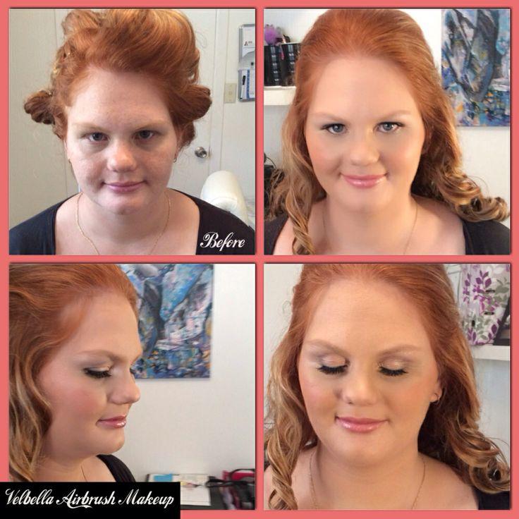 Velbella Airbrush Makeup and Hairstyling                www.velbella.com.au www.facebook.com/velbella