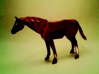 #Horse #American #paper #art $6.45