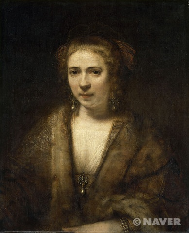 헨드리키에 스토펠스는 사스키아 판 오일렌부르크, 헤르트헤 디르크와 더불어 네덜란드 바로크의 거장 렘브란트의 삶을 풍요롭게 만든 세 여인 중 하나다. 1626년 브레데포르트에서 태어났고 그녀의 예술적 공헌을 기려서 현재 그곳에는 그녀의 수수한 동상이 세워져 있다. 렘브란트와 스무 살이나 차이 나는 헨드리키에는 처음에 하녀로 고용되었지만, 곧 그림 모델이 되고 뒤이어 인생의 반려가 되었다. 렘브란트가 그린 그림 가운데 적어도 여덟 점이 헨드리키에를 모델로 하고 있는데, 아직 정확히 밝혀지지 않은 사례가 훨씬 더 많을 것으로 추정된다.