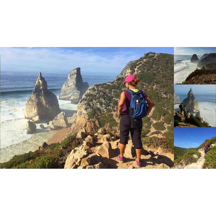 Wonderfull SUNday. From praia da ursa to Adraga and then to Sintra. Photos @vanessalmeidasantos #sunday #outsideisfree #naturelovers #ocean #wonderfulllandscape #goodfriends #praiadaursa #adraga #sintra