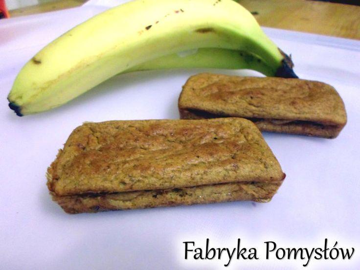 Chlebek bananowy bez cukru i tłuszczu/ Pieczony omlet bananowo-owsiany