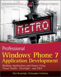 Professional Windows Phone 7 Application Development Pdf Download e-Book