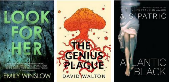Booklover Mailbox - Look for Her (Emily Winslow), The Genius Plague (David Walton) and Atlantic Black (A S Patric)