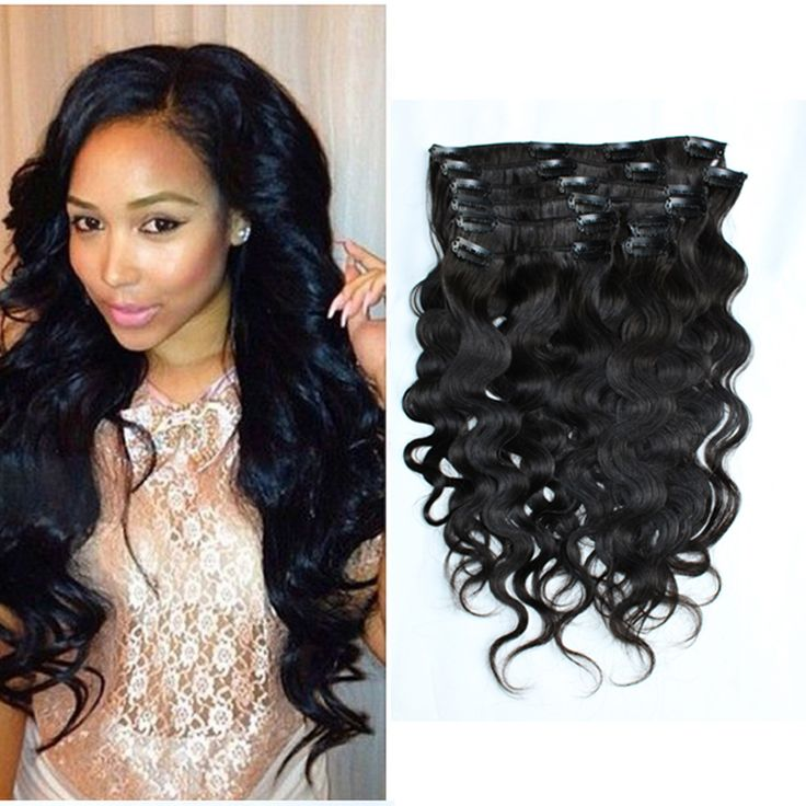 25 unique clip in ponytail ideas on pinterest curly ponytail hot full head clip in human hair extensions 1 hair clip free shipping 100 pmusecretfo Image collections