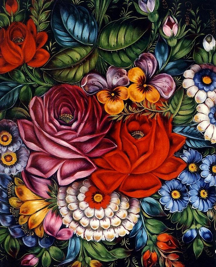 les 199 meilleures images du tableau fleurs peintures decoratives sur pinterest peinture. Black Bedroom Furniture Sets. Home Design Ideas