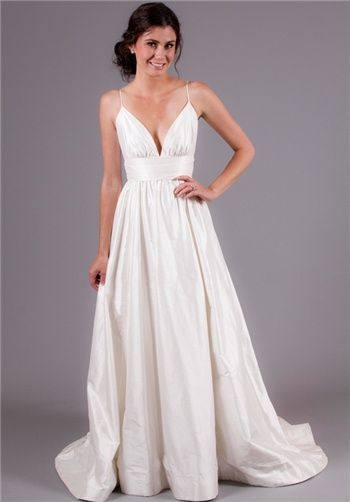 Best 25  Spaghetti strap wedding dress ideas on Pinterest | Pallas ...