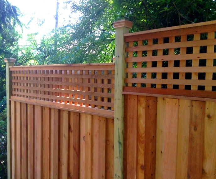 wood privacy fence 6ft privacy fence large privacy fence wood fence design ideas beautiful privacy fence ideas privacy fence with lattice topper garden - Wooden Fence Designs Ideas