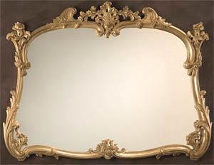 Louis XV Horizontal Mirror