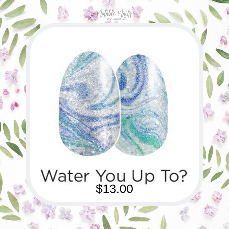 New Spring Collection 2019 Water You Up To Coming Soon Springnailpolish Springnailglitter
