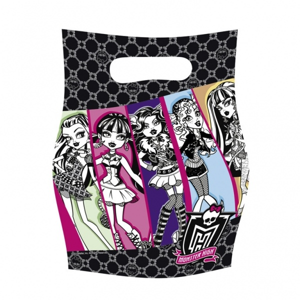 BORSINE FESTA MONSTER HIGH 6PZ