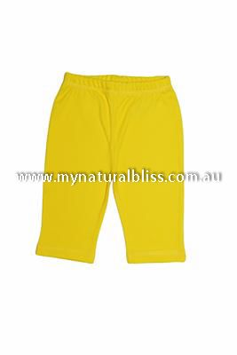 Organic Baby Pants 100% GOTS certified available from www.mynaturalbliss.com.au