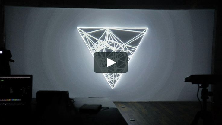 100Answer Projection Mapping  July 14th, 2013 Harajuku Project Space FLAG…