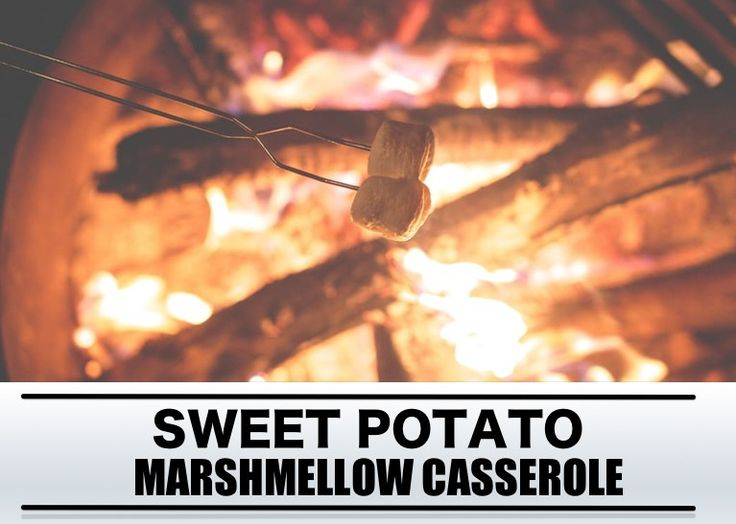 Barbecue recept: sweet potato marshmallow casserole